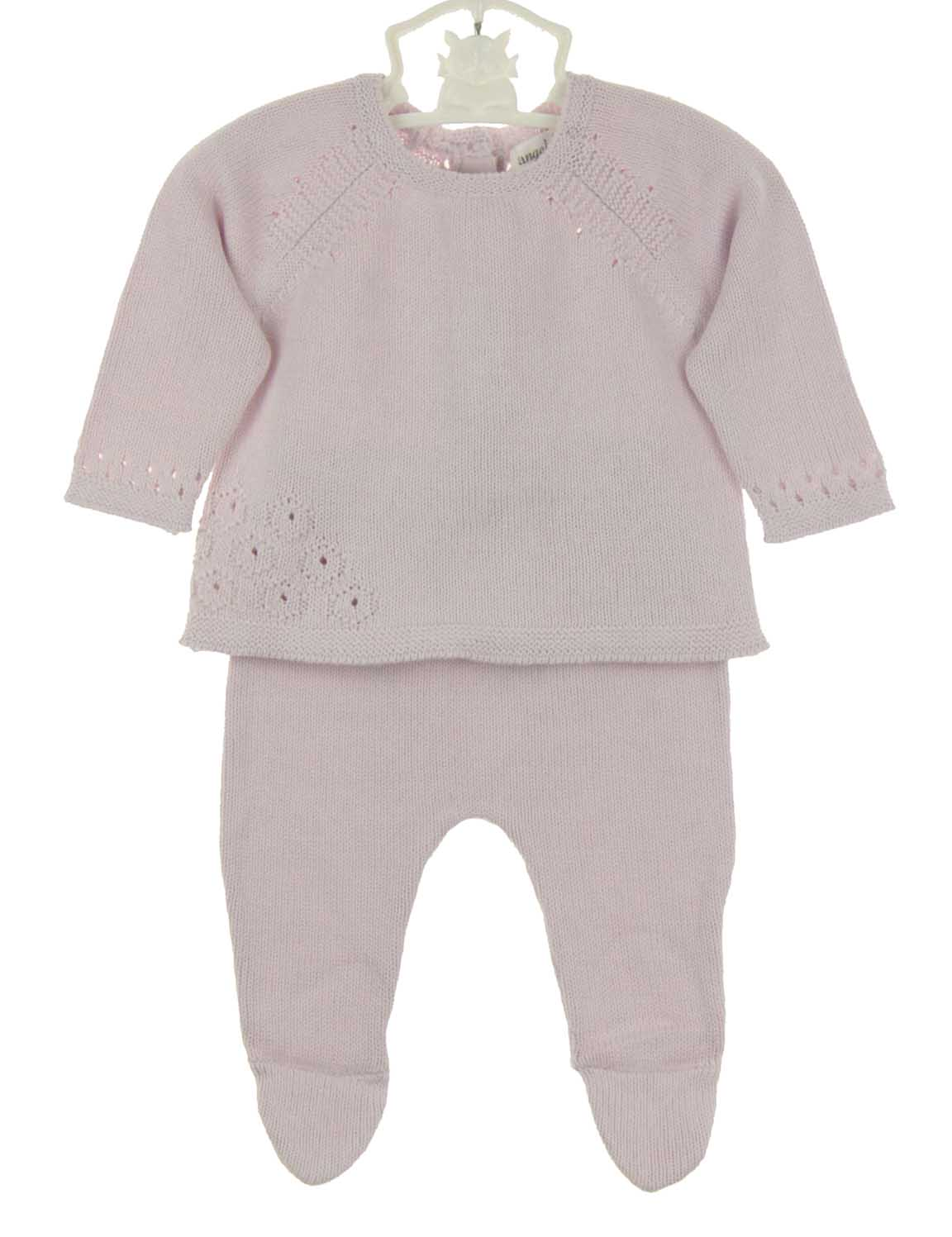 Attractive Angel Dear lavender baby sweater and leggings set,lavender newborn  UH51