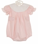 NEW Anvy Kids Pink Batiste Bubble with White Portrait Collar