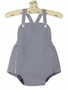 NEW Claire and Charlie by Anavini Navy Checked Vintage Style Sunsuit