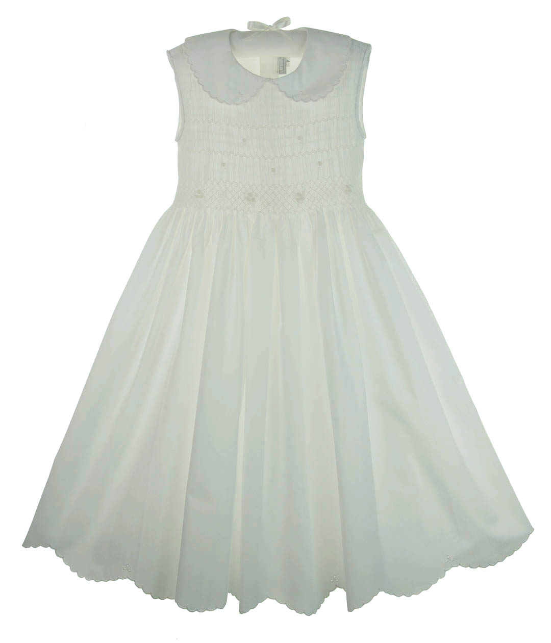 Fantaisiefantaisie kidsgirls white cotton dresswhite cotton click to enlarge mightylinksfo