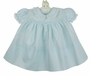 "<img src=""https://p11.secure.hostingprod.com/@grammies-attic.com/ssl/images/blue-sold-1.gif"">  NEW Feltman Brothers Pale Blue Dress with Embroidery and Lace Trimmed Collar"