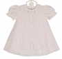 "<img src=""https://p11.secure.hostingprod.com/@grammies-attic.com/ssl/images/blue-sold-1.gif""> NEW Feltman Brothers Pink Pintucked Dress with Lace Insertion and Matching Slip"