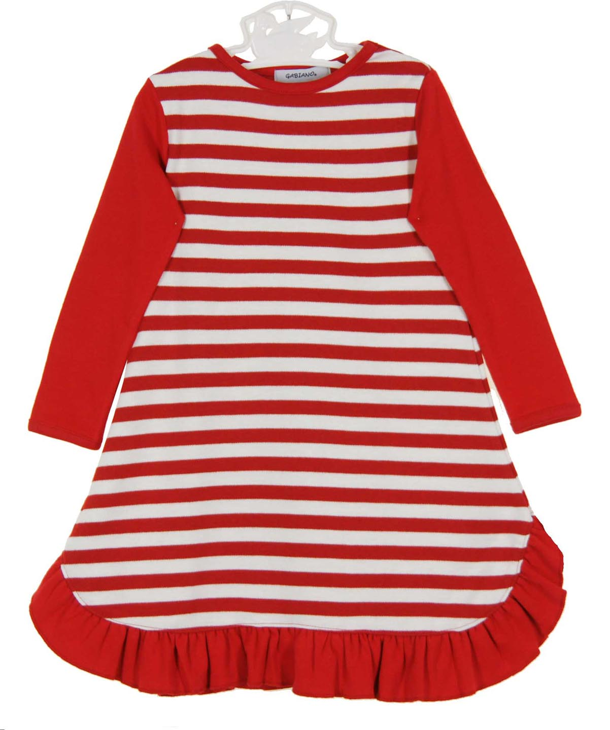 red striped nightgown for baby girls,Christmas nightgown for baby ...