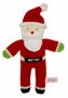"<img src=""https://p11.secure.hostingprod.com/@grammies-attic.com/ssl/images/blue-sold-1.gif""> NEW Hand Knit Cotton Stuffed Santa"