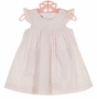 NEW Marco & Lizzy Pink Hearts Cotton Dress and Diaper Cover with Heart Shaped Pockets