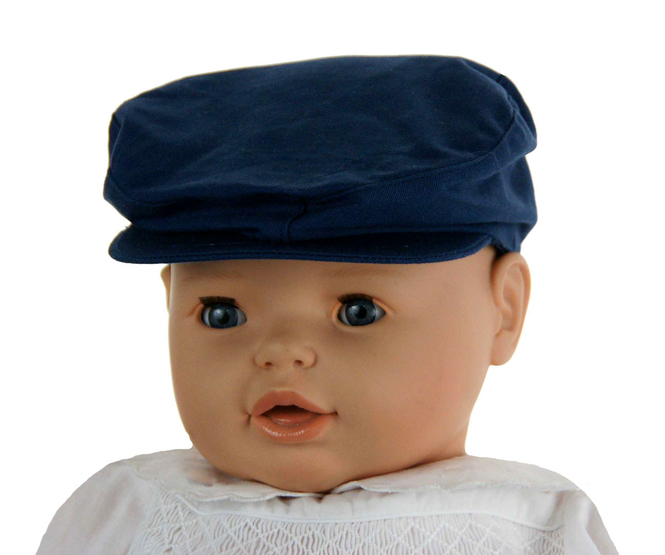 NEW Navy Blue Cotton Newsboy Hat eef48764a4b