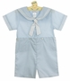 NEW Petit Ami Light Blue Sailor Suit with White Trim