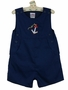 "<img src=""http://site.grammies-attic.com/images/blue-sold-1.gif""> NEW Petit Ami Navy Sleeveless Sailor Romper with Embroidered Anchor"