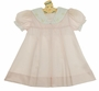 NEW Petit Ami Pink Pleated Sailor Dress with Anchor Embroidered White Collar