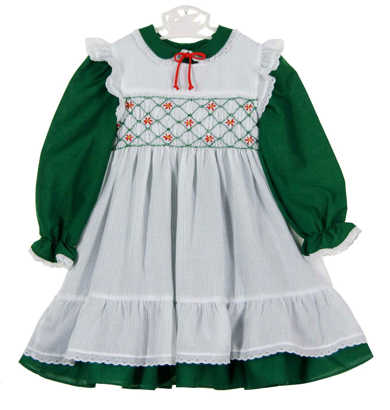 click to enlarge - Green Christmas Dress