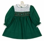 "<img src=""https://p11.secure.hostingprod.com/@grammies-attic.com/ssl/images/blue-sold-1.gif"">  Polly Flinders Green Smocked Dress with Candy Cane Embroidery"