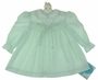 "<img src=""https://p11.secure.hostingprod.com/@grammies-attic.com/ssl/images/blue-sold-1.gif""> NEW Polly Flinders Pale Green Smocked Dress with White Collar"