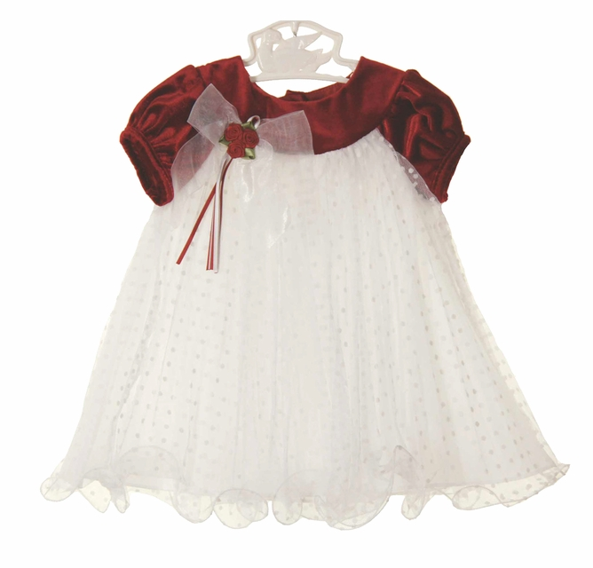 Rare Editions Christmas Toddler.Rare Editions Christmas Dress Red Velvet Christmas Dress Red