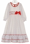 NEW Red Rosebud Print Nightgown for Babies, Toddlers, and Little Girls