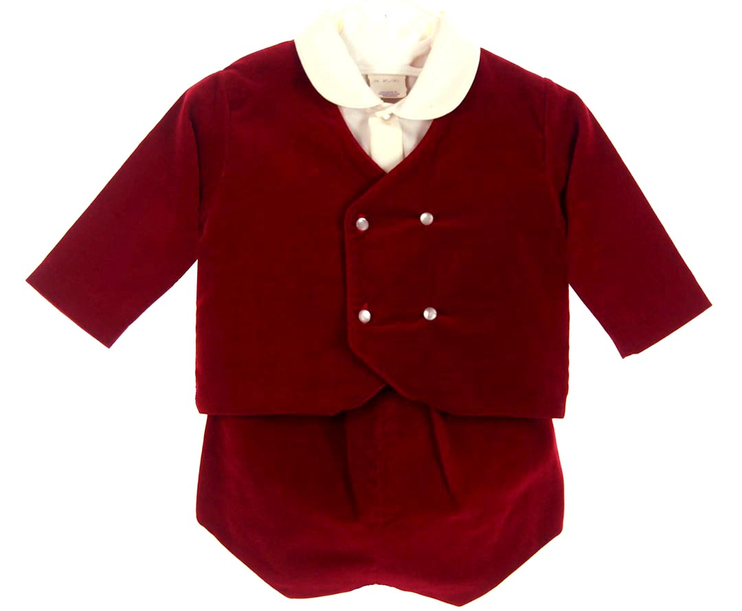 red velvet suit for baby boy,red velvet suit for infant boy,red ...
