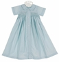 NEW Remember Nguyen Blue Smocked Daygown
