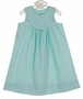 NEW Remember Nguyen (Remember When) Aqua Dress with White Trim