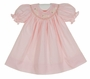 "<img src=""https://p11.secure.hostingprod.com/@grammies-attic.com/ssl/images/blue-sold-1.gif""> NEW Remember Nguyen (Remember When) Pink Bishop Smocked Dress with Embroidered Bunnies and Matching Bloomers"