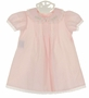 NEW Remember Nguyen (Remember When) Vintage Style Pink Dress and Bloomers with Pintucks, Lace Insertion, and Embroidery