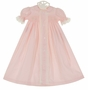"<img src=""https://p11.secure.hostingprod.com/@grammies-attic.com/ssl/images/blue-sold-1.gif""> NEW Remember Nguyen (Remember When) Vintage Style Pink Cotton Smocked Daygown with Lace and Embroidery"