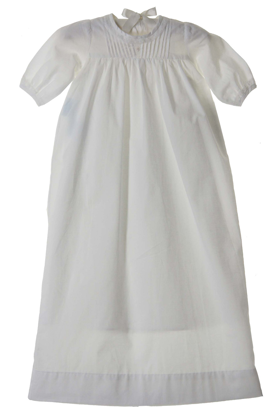 Remember Nguyen white vintage style christening gown,vintage style ...