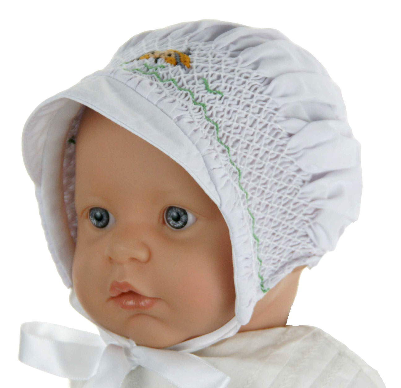 NEW Rosalina Boys Smocked Hat with Embroidered Puppy 96f641d94d2