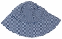 NEW Rosalina Navy Checked Monogrammable Sunhat