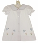 "<img src=""https://p11.secure.hostingprod.com/@grammies-attic.com/ssl/images/blue-sold-1.gif""> NEW Rosalina White Daygown with Embroidered Bluebirds"