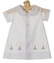 NEW Rosalina White Daygown with Sailboat Embroidery