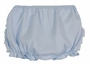 NEW Sarah Louise Blue Diaper Cover with Ruffled Bottom
