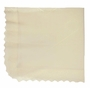 NEW Sarah Louise Ivory Delicate Knit Blanket with Openwork Design