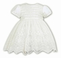 "<img src=""https://p11.secure.hostingprod.com/@grammies-attic.com/ssl/images/blue-sold-1.gif"">  NEW Sarah Louise Ivory Satin Dress with Lace and Tulle Skirt"