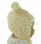 NEW Sarah Louise Ivory Soft Knit Hat and Mittens Set