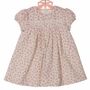 NEW Sarah Louise Pink Roses Print Corduroy Dress