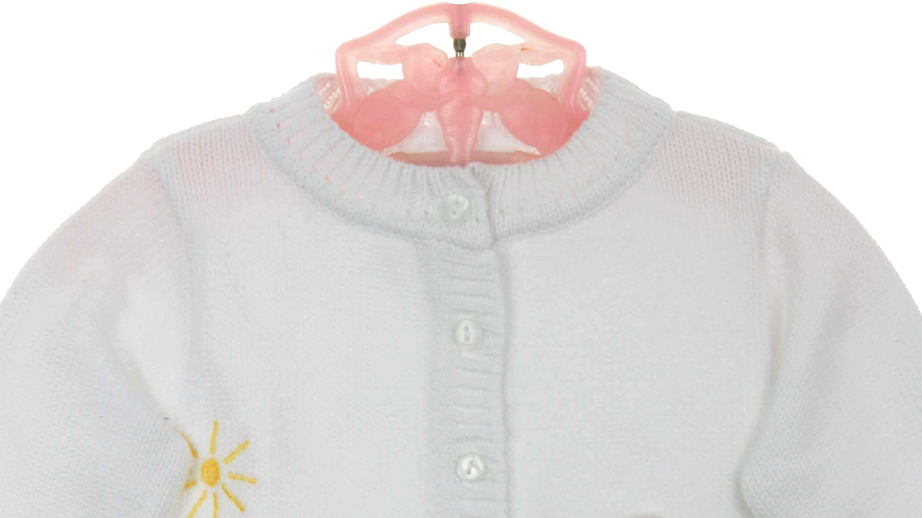 NEW Sarah Louise White Cotton Sweater with Embroidered Bunnies. SW1408   50.00. Size  sold out 413443655