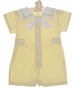 NEW Therese Yellow Sailor Suit with White Collar