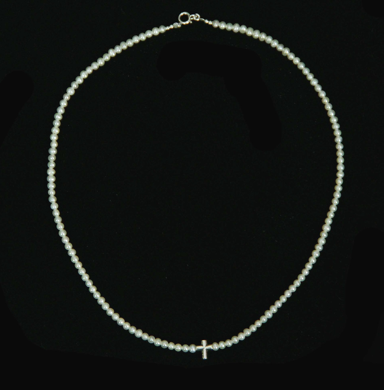 TINY PEARLS - Pearl Necklace for Girls ia9YNhTFqQ