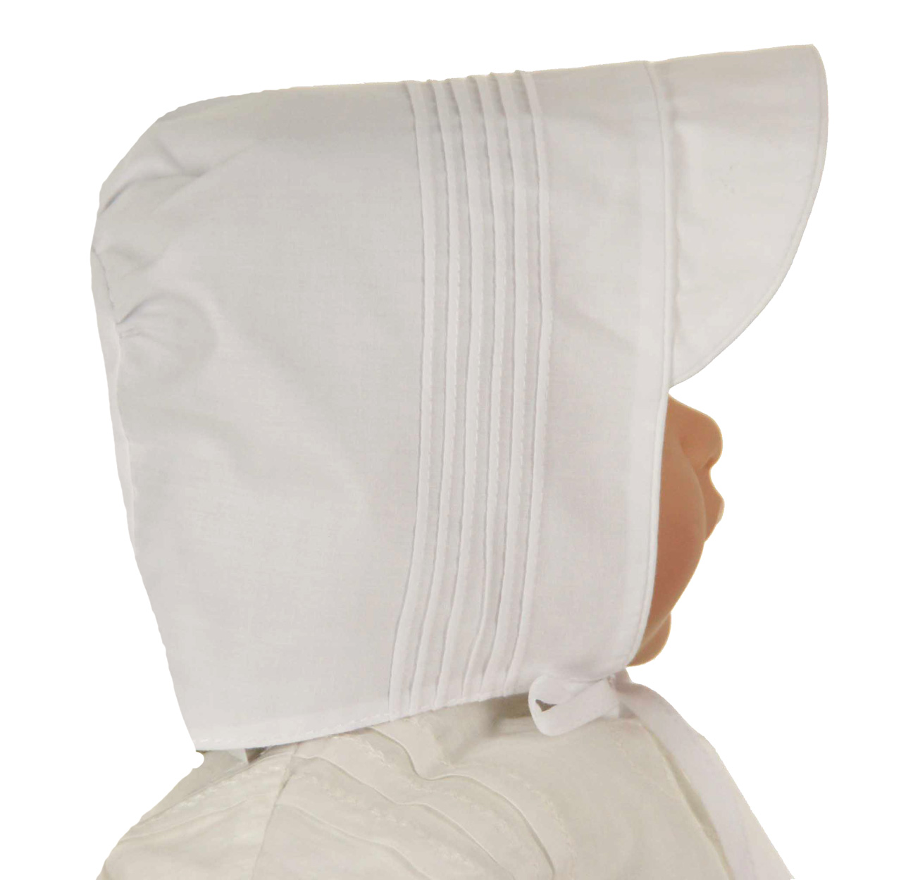 01a9d778112 NEW Feltman Brothers Boys White Hat with Pintucks
