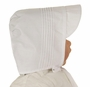 """<img src=""""http://site.grammies-attic.com/images/blue-sold-1.gif""""> NEW Feltman Brothers Boys White Hat with Pintucks"""