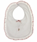 "<img src=""https://p11.secure.hostingprod.com/@grammies-attic.com/ssl/images/blue-sold-1.gif""> NEW Baby Threads White Pima Cotton Knit Bib with Candy Cane Embroidery"