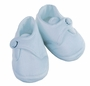 NEW Will'Beth Blue Cotton Pique Shoes for Baby Boys