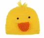 NEW Yellow Crocheted Duck Hat for Baby Boys