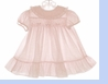 "<img src=""https://p11.secure.hostingprod.com/@grammies-attic.com/ssl/images/blue-sold-1.gif""> Polly Flinders Pale Pink Smocked Dress with Ruffled Hem"