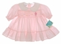 "<img src=""https://p11.secure.hostingprod.com/@grammies-attic.com/ssl/images/blue-sold-1.gif""> NEW Polly Flinders Pink Smocked Baby Dress with Embroidered Kite"