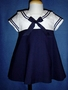 "<img src=""https://p11.secure.hostingprod.com/@grammies-attic.com/ssl/images/blue-sold-1.gif""> Sylvia Whyte Navy & White Linen Sailor Dress for Baby Girls"