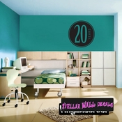 20 years Celebrations Wall Decals - Wall Quotes - Wall Murals CE04020yrsVIII SWD