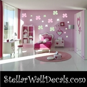 72 Four Leaf Clover Clovers Vinyl Wall Decal Stickers Kit SWD