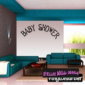 Baby Shower New Born Celebrations Wall Decals - Wall Quotes - Wall Murals CE016BabyshVIII SWD