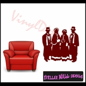 Christmas Carolers NS003 Wall Decal - Wall Sticker - Wall Mural SWD