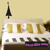 Christmas Tree Swirl Holiday Wall Decals - Wall Quotes - Wall Murals CP030 SWD